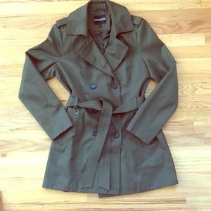 EXPRESS Rain Trench Coat